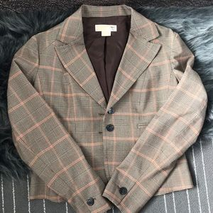 Michael Kors Plaid dress jacket